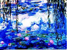 POST CARD OF THE FAMOUS PAINTING WATER LILLIES BY MONET