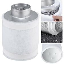 "4"" 150CFM Hydroponic Air Carbon Filter Odor Control Scrubber for Inline Exhaust"