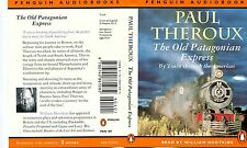 PENGUIN  AUDIOBOOKS : PAUL THEROUX, THE OLD PATAGONIAN EXPRESS, AUDIO CASSETTES