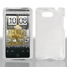 For AT&T HTC Aria Protector Hard Case Snap on Phone Cover Crystal Clear