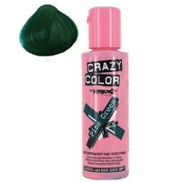 Crazy Color Colour Hair Dye Semi-Permanant 100ml PINE GREEN