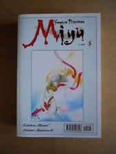 VAMPIRE PRINCESS MIYU n°5 edizione Play Press Manga  [G371D]