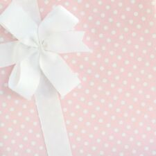 Dainty Dots Wrapping Paper / Gift Wrap - Pink Frosting - by SmashCake & Co.