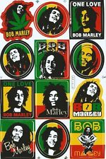 Bob Marley Sticker decal Racing Helmet  Sticker Motocross Skateboard Bike Decal