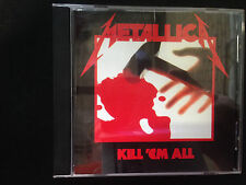 Kill 'Em All  by Metallica:OZ CD Matrix / Runout: * 838142-2 * #06 MADE BY PMI.