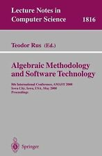 Algebraic Methodology and Software Technology : 8th International Conference,...