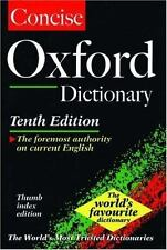 The Concise Oxford English Dictionary: Thumb Indexed (Dictionary)-ExLibrary