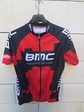 Maillot cycliste BMC SWISS CYCLING TECHNOLOGY jersey trikot shirt rouge M maglia