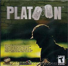 PLATOON Vietnam Strategy JC RTS PC Game NEW Sealed