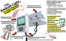 Wicked Lights Ambush A1 Solar Feeder Light w WHITE LED for Hog Night Hunting