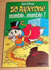 ED.MONDADORI  I CLASSICI WALT DISNEY 1° SERIE  N° 55 1974  ZIO PAPERONE MUMBLE..