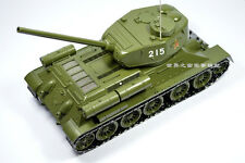 1:24 T34 tank model Soviet medium tank of World War II metal tank model