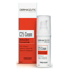 Dermaceutic C25 Cream Antioxidant Concentrate 30ml 1oz NIB