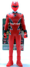Power Rangers Juken Sentai Gekiranger Geki Red Soft Vinyl Action Figure Bandai