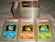 POKEMON CHARIZARD 1ST ED KOREAN BASE SET 16 PSA 9 HOLOS 102 CARD SET