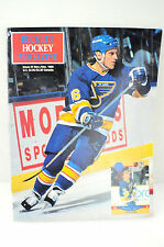 Vintage Beckett Hockey Magazine Dec. 1990