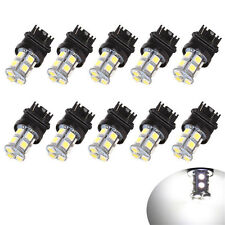 10Pcs 3157 13SMD Led Light White 5050 6000K Car Reverse Brake Tail Lamp Bulb 12V
