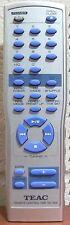 Teac RC-909 Original Audio System Remote Control EX-M1 EXM1 EX-M3 EXM3 - Tested