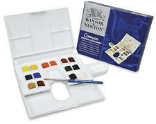 Winsor & Newton Watercolor Compact Colman Water Colors 14 Half Pans