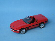 Matchbox 1987 Corvette Red Body Ultra series Toy Model Car UB 70mm