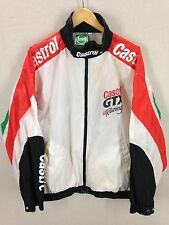 VTG Castrol GTX Racing Windbreaker Jacket Nascar 80's 90's Motor Oil Car Mens XL