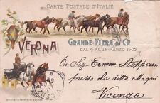 VERONA - Fiera di Cavalli 1903 Officine Franchini