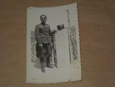 FOTOGRAFIE MILITARI-MILITARE IN POSA-DATATA CIVITVECCHIA 1932 X° -INTERESSANTE