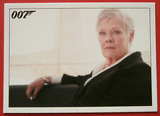 JAMES BOND Quantum of Solace - Card #055 - The Foreign Secretary Wishes To See M