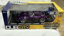 Jada Toys Dub City BigTime Muscle 1963 Chevrolet Corvette Stingray 1:18 Scale