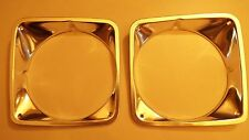 69 70 71 72 1969-1970-1971-1972 CHEVY TRUCK BLAZER PAIR OF NEW  HEADLIGHT BEZELS