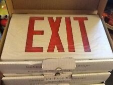 Lot Of 2 Nicor 18200 Exit Signs
