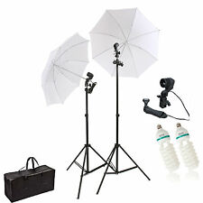 HWASTUDIO ® 135W Continuous Lamp Bulb Photography Photo Umbrella light Stand