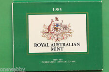 1985 - Australia - Uncirculated year set - SNo31578