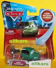 "Look ""B - DASH BOARDMAN - #137 Reporter with camera car Disney Cars Eyes Change"