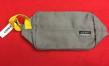 """Old Navy 9.5""""x6""""x4"""" Toiletry Kits - Gray~Yellow Handle New With Tags"""