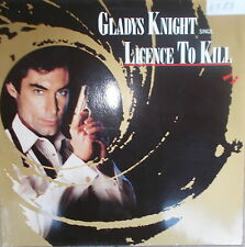 "12"" Maxi GLADYS KNIGHT - LICENCE TO KILL ( JAMES BOND 007 ),VG++ NM,cleaned,MCA"