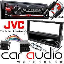 Vauxhall Corsa C 2000 - 2004 JVC Car Stereo Radio Mechless MP3 AUX Kit Black