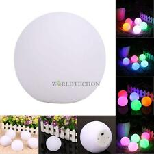 Spheriform Color Changing Mood LED Ball Shaped Night Light Home Room Decor Lamp