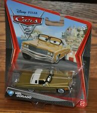 Disney Pixar Cars 2 Die Cast #27 Mel Dorado 1:55 scale NEW