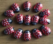 15 x Novelty Chocolate Large Foiled Ladybirds - Brand New