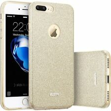 Apple iPhone 7 PLUS Bling caso Sparkle duro PROTEZ Oro Fashion Design