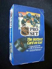 1990 Pro Set Series 1 NHL factory sealed original box sports cards 36 pks hockey