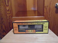 Rail King By MTH 30-74223 MTHRRX-2005 Rounded Roof Boxcar w/Generator - NIB