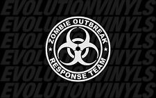 Zombie Outbreak Response Team V1 Sticker Decal Vinyl The Walking Dead Biohazard
