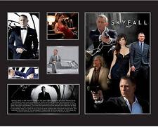 New James Bond Skyfall 007 Signed Limited Edition Memorabilia Framed