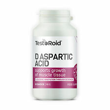 TESTOROID DAA 100% PURE PHARMACEUTICAL GRADE D-ASPARTIC ACID 30 DAY SUPPLY