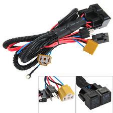 12V 40A Harnais Fil Câble Câblage avec Relais Fusible pour H4/9003 Lampe Voiture