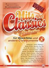 Blockflöte Noten : Hits and Classics Collection mit CD leicht - le