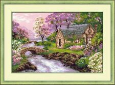 COUNTED CROSS STITCH KIT RIOLIS - THE SPRING VIEW