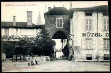 71  ROMENAY  entrée de la vieille ville    ( 562 )